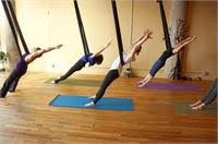 Open Level Aerial Yoga
